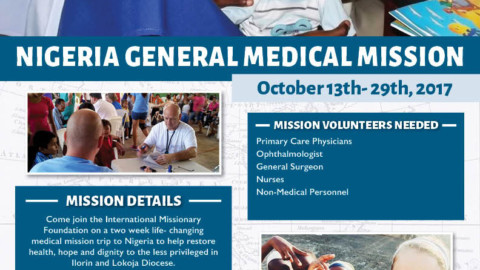 NIGERIA GENERAL MEDICAL MISSION #RestoreHope