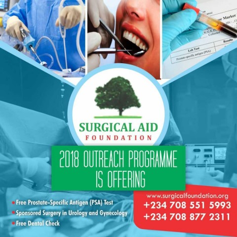 SURGICAL AID FOUNDATION MEDICAL OUTREACH PROGRAMME 2018